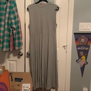 Who What Wear Sweater knit sleeveless a line dress